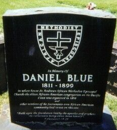 Gravestone of Daniel Blue