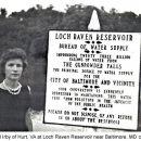 Gay Irby, Loch Raven Dam, Maryland 1951