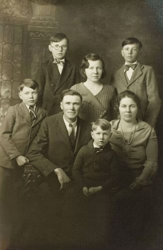 Donald Wilcox family