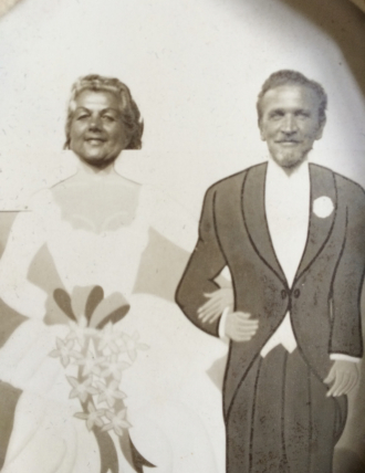Mary and her husband John H. MinicelliSanta Cruz Beach Boardwalk late 1960's to early 1970's.
