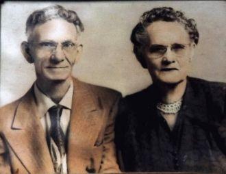 Clara Vashti Hiers and John Washington Wells