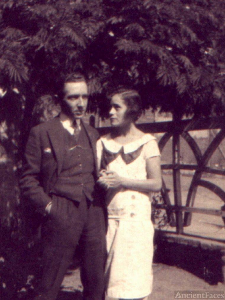 Berta Mendoza y Alberto Magnino