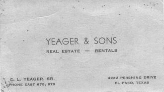 Yeager & Sons - Real Estate & Rentals
