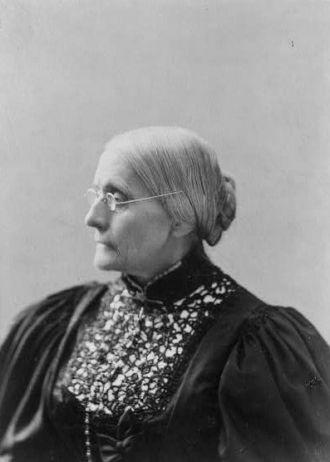 Susan B. Anthony portrait