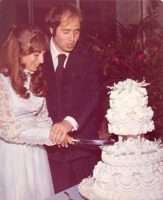Penny Marshall & Rob Reiner, 1971