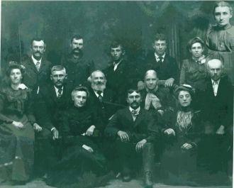 Martha & Omri Emery's Family, 1902