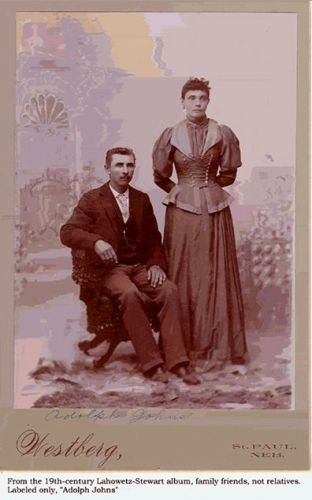Adolph Johns and, no doubt, wife
