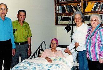 My Grandmother, Euna Brownlow Denton, Illness