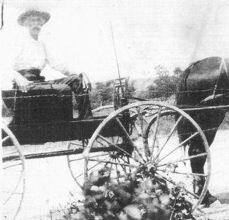 John W. Partee Working Cotton Farm