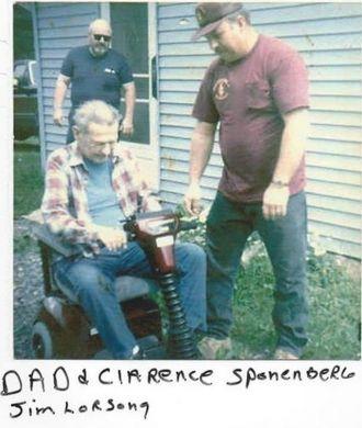 Robert, Clarence Sponenberg & Jim Lorsong