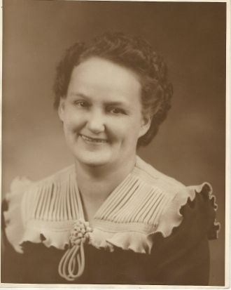 A photo of Jessie Elizabeth (Childers) Strickland