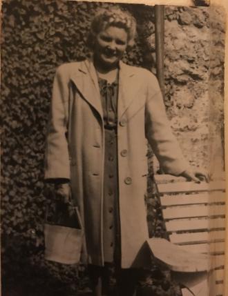 Susan (Farrell) Wittman 1940s