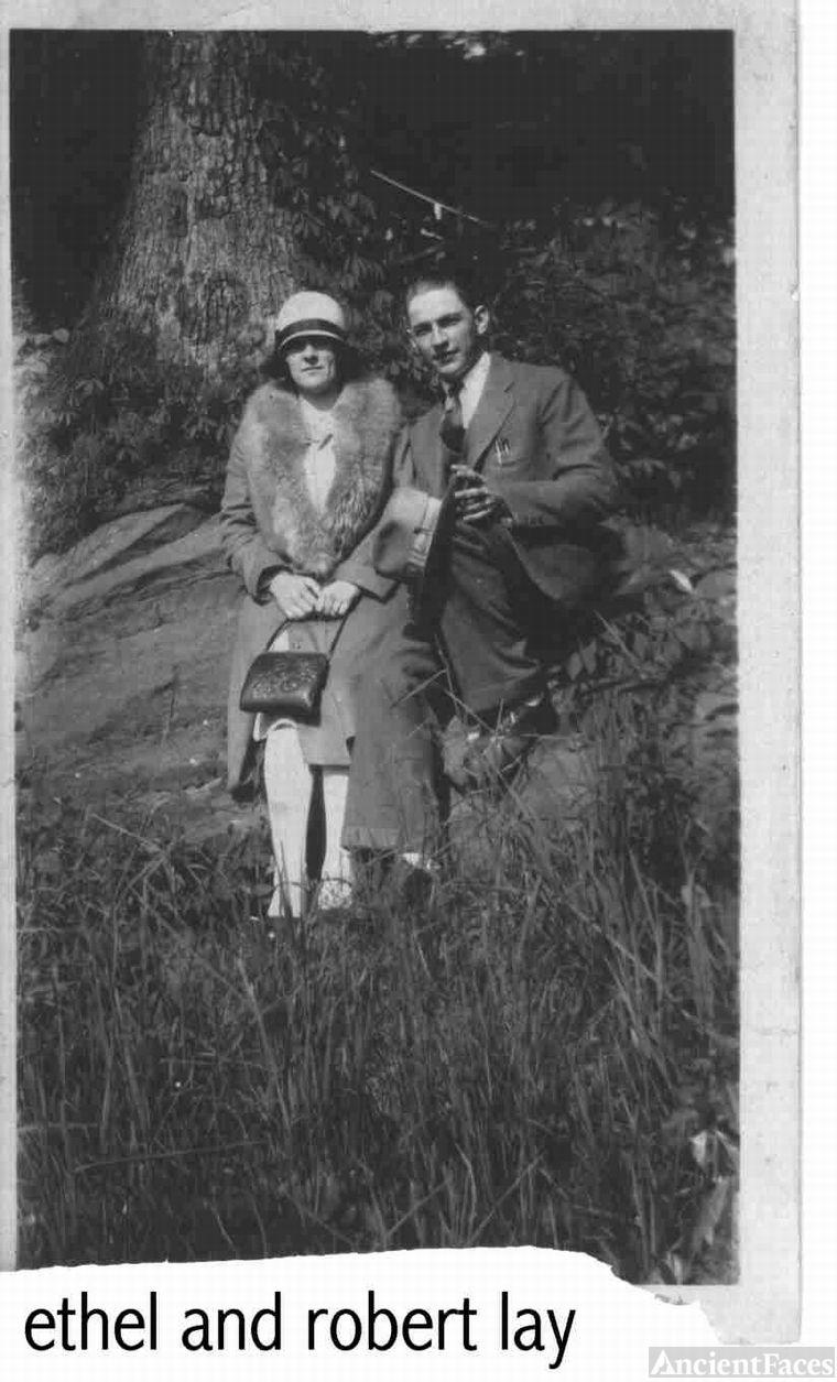 my grandma and grandpa lay
