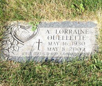 Lorrainne Ouellette gravesite