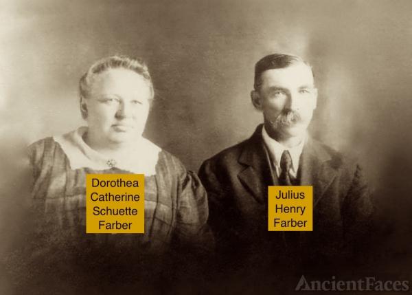 Julius and Dorothea Farber