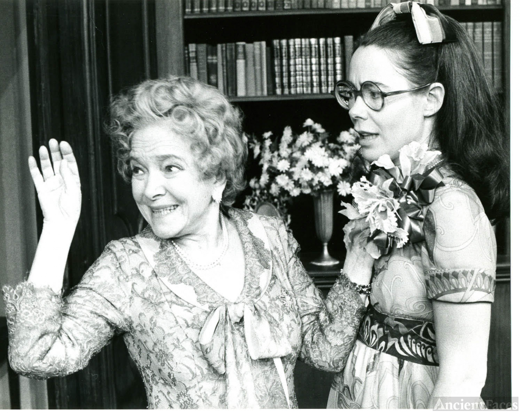 Helen Hayes and Marian Hailey