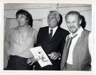 Peter Glenville, Cary Grant and Anthony Quayle