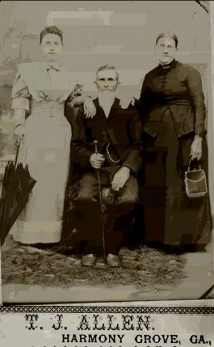 Unknown Family - Harmony Grove, GA