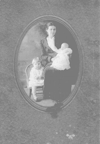 Granny Cooper with Edith and Ethel
