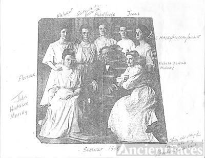 John Anderson Murray Family 1908
