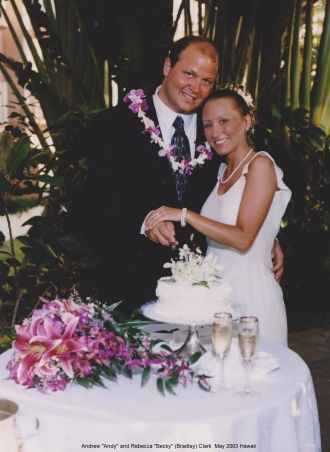 Andy and Becky Clark in Hawaii, 2003