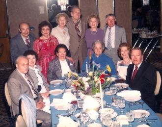 The Harry Zatkow children and spouses