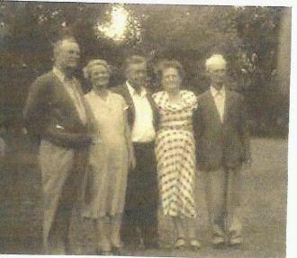 Five of David & Mary Williams Carl's Nine Children