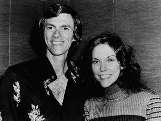Karen Anne Carpenter with Richard