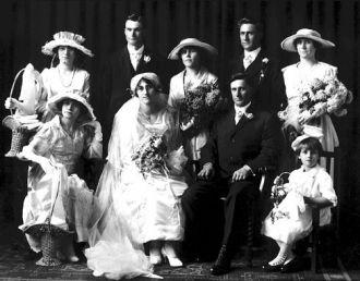 Mary (Engele) & Charles Reichert, MN 1917