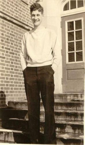 William Glen Cornwell, Iowa State College, 1933