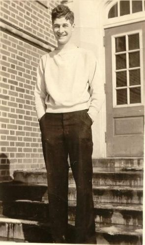William Glen Cornwell, Iowa State College, 1933