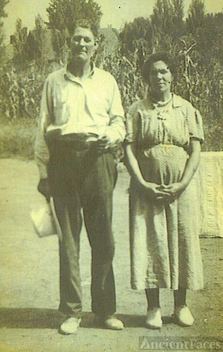 James A.Garfield & Millie F. (Daugherty) Burden