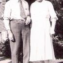 Hugh Sheeks and His Wife, Rosa Viviahn, of North Dakota