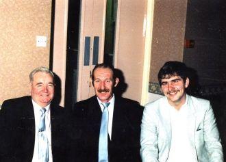 George Berry, Frankie Mullen & David McGinley