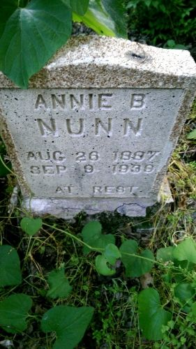 Annie B. Nunn gravesite