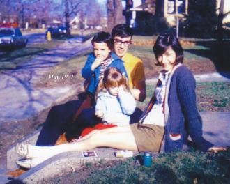 The Badger family 1971