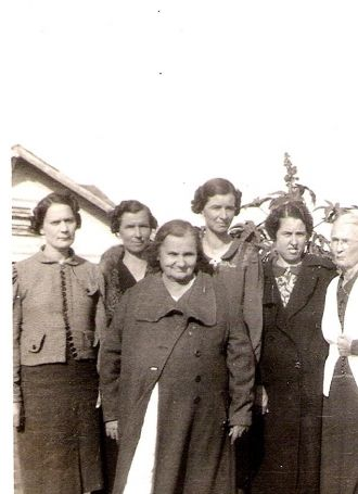 Great-Grandmother Brownlow and Family