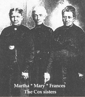 Three Cox sisters
