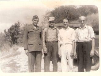 Frank, Joe, John, & Gilbert Bauer