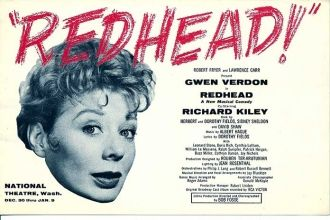 Dorothy Fields did the lyrics to REDHEAD.