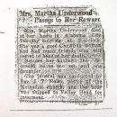 Martha Matilda Morris Underwood Obituary