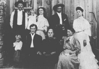 A photo of Brown Family ?