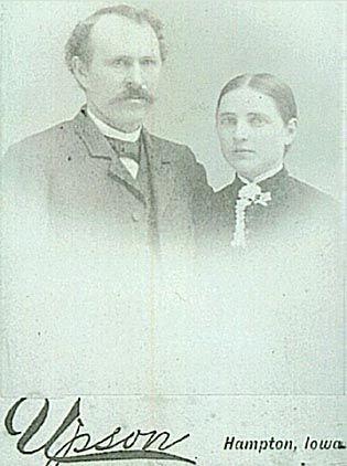 Elizabeth Mallory and husband Henry Brown Daniels
