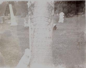 Rebecca Hilliard gravestone