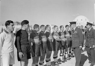 Greek Football match