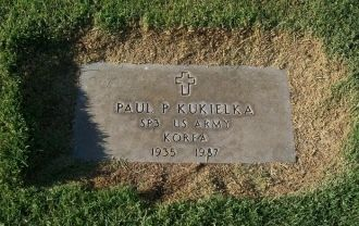 Paul P Kukielka Headstone, Nevada
