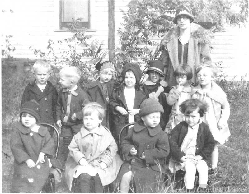 Cradle Roll Sunday School Class - 1925