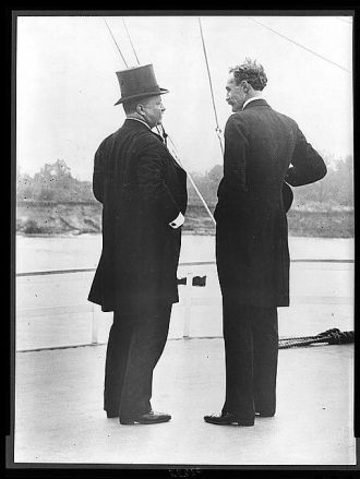 President Theodore Roosevelt and Chief Forester Gifford...