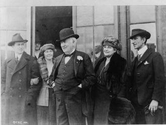 [Thomas Alva Edison, three-quarter length portrait,...