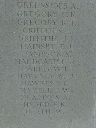 Brookwood Memorial..panel 6